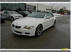 2009 BMW M6 Convertible in Alpine White Photo No 1322796
