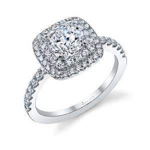 sylvie engagement rings halo engagement ring sylvie collectionalexis house