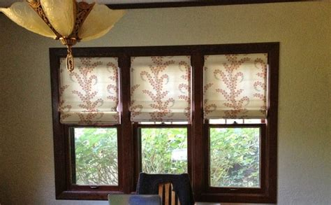 knechtel drapes and shades craftsman dining room