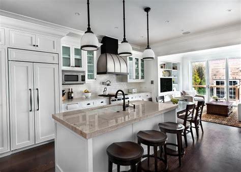 classic  clean white kitchen  subway tile hgtv