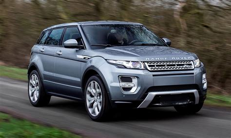 2015 Range Rover Evoque Gains 9-speed Auto, Refreshed Info