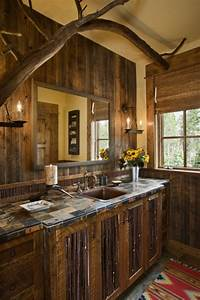 Rustic Bathrooms Rustic Bathroom, Log Home Bathroom