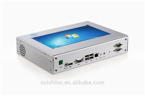 pc bureau ecran tactile faible consommation écran tactile mini pc windows intégré