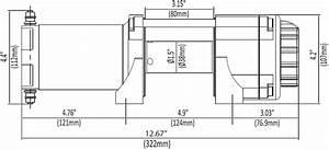 2500 Lb Kfi Winch Combo Kit  M14  For 2015