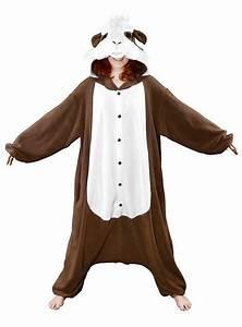 Warmes Halloween Kostüm : cozysuit meerschweinchen kigurumi kost m ~ Lizthompson.info Haus und Dekorationen