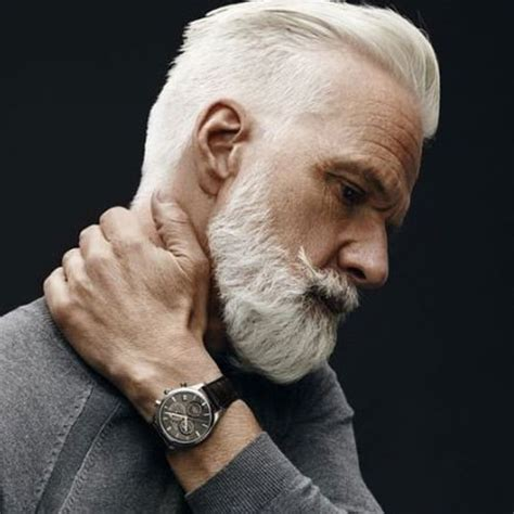21 Best Mens Hairstyles For Silver And Grey Hair Men