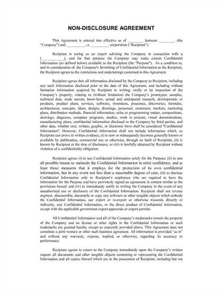 french tenancy agreement template top 5 free non disclosure agreement templates word