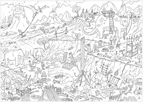 L&scapes Adult Coloring Pages