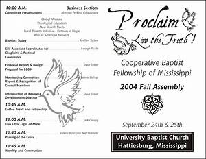 Slideshow for Free printable church programs