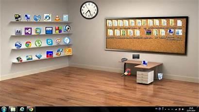Desktop 3d Classic Wallpapers Windows Shelf Bumptop