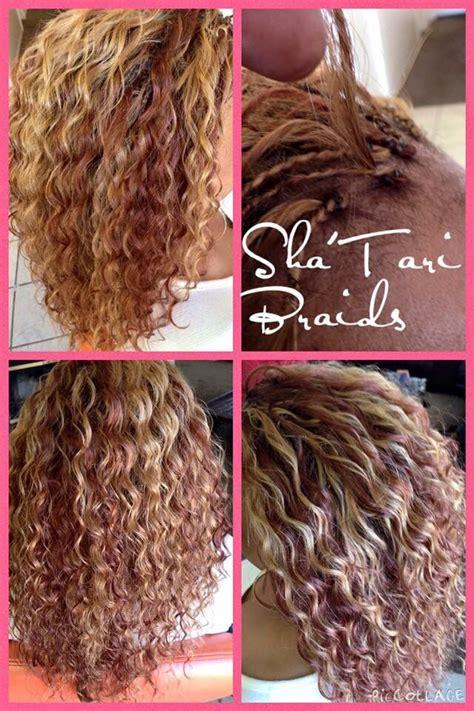 human hair micro tree braids  hair included