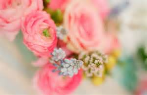 Light Pink and Blue Wedding Flowers