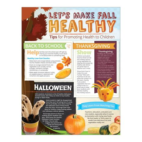 newsletter cuisine let 39 s fall healthy newsletter handouts healthy