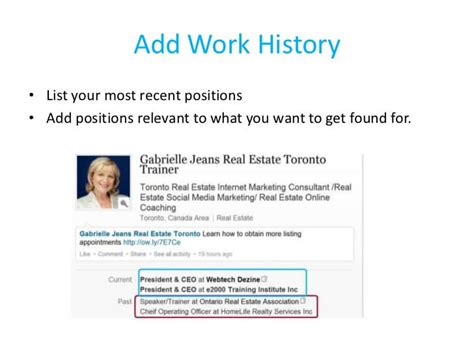 How To Get Resume Noticed On Linkedin by How To Create A Great Linkedin Profile Aeroleads