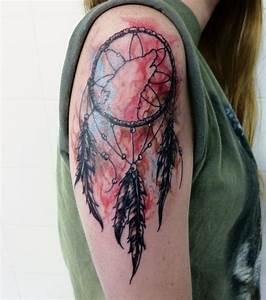 Tatouage Attrape Reve : photo tatouage attrape r ve paule ~ Carolinahurricanesstore.com Idées de Décoration