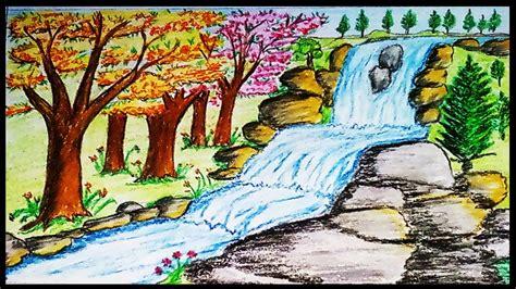 simple waterfall drawing  getdrawings