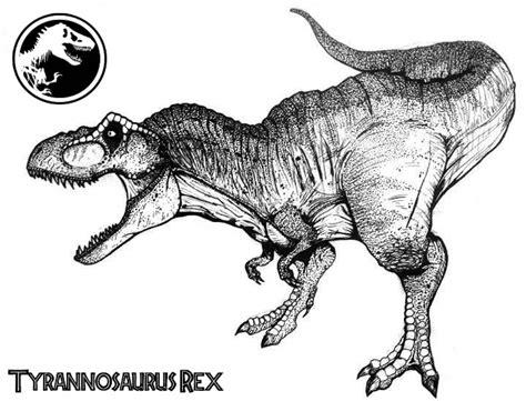 Tyrannosaurus Rex Coloring Page Eskayalitim
