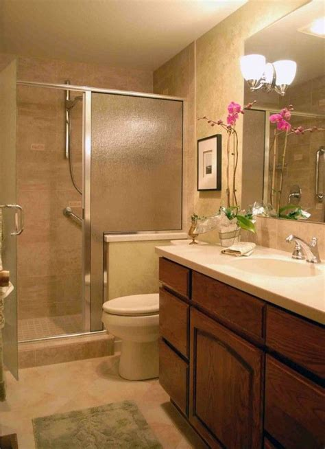 beige tile bathroom makeover bathroom showers ideas