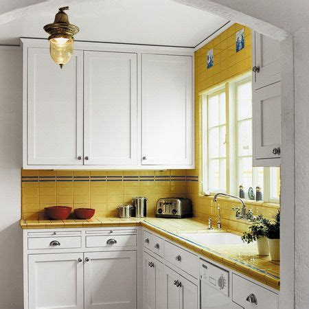 Farbe Für Küche  Geflieste Arbeitsplatte Küchenideen