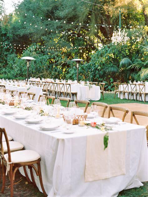 Elegant Outdoor Montecito Wedding Once Wed