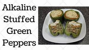 Stuffed Green Peppers Dr Sebi Alkaline Electric Recipe