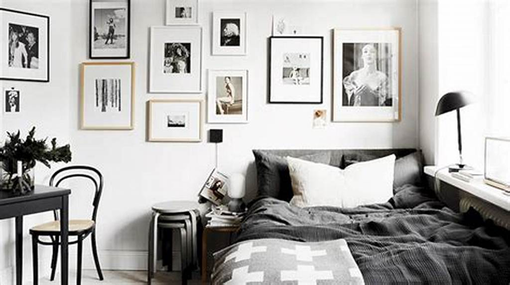 #Black #And #White #Wall #Decor #For #Bedroom