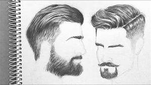 Drawing Men U0026 39 S Hair  Realistic Appeal   Time-lapse