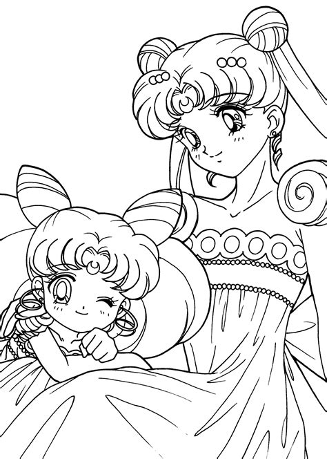Anime Kimoto Beautiful Coloring Coloring Pages