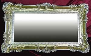 Barock Spiegel Silber Groß : spiegel deko wandspiegel g nstig kaufen bei yatego ~ Markanthonyermac.com Haus und Dekorationen