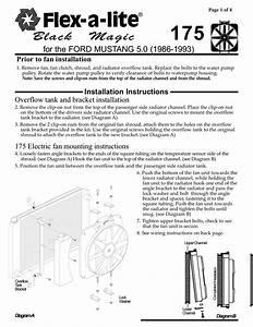 Flex A Lite Electric Fan Controller Wiring Diagram