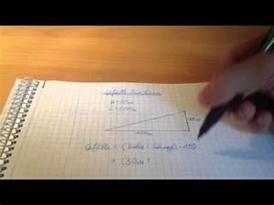 Steigung Prozent Berechnen : pythagorasxxl beispielaufgabe walmdach doovi ~ Themetempest.com Abrechnung