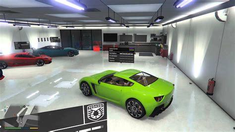 Single Player Garage Mod