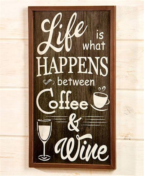 Coffee expressions metal wall decor. Coffee and Wine Decorative Accents | Coffee wall art, Wine ...