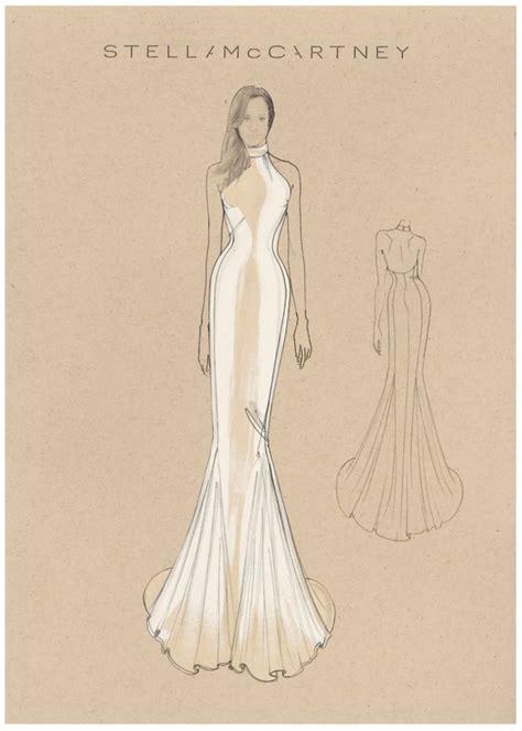 Meghan Markle's Wedding Reception Dress Sketch Meghan