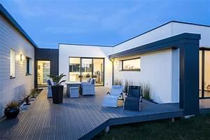 Style Contemporain : maisons nature bois de style contemporain la maison ~ Farleysfitness.com Idées de Décoration