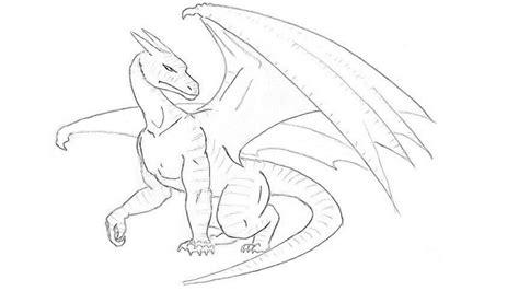 draw  dragon step  step draw  dragon easy
