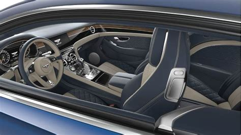 bentley continental gt  dimensions boot space