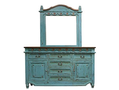 Turquoise Dresser, Turquoise Bedroom Furniture