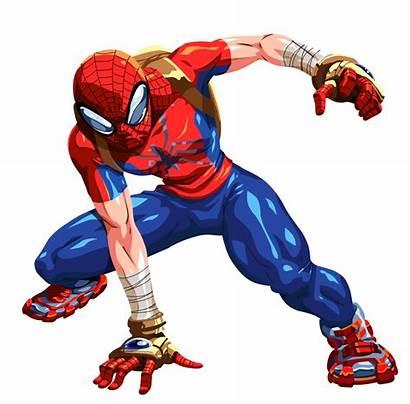 Spider Mangaverse Manga Parker Marvel Peter Earth