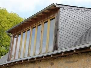 Lucarne De Toit : grande lucarne de toit fenetre toit ~ Melissatoandfro.com Idées de Décoration