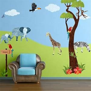 Wandtattoo Kinderzimmer Dschungel : wandtattoo f r kinderzimmer 73 super ideen ~ Orissabook.com Haus und Dekorationen