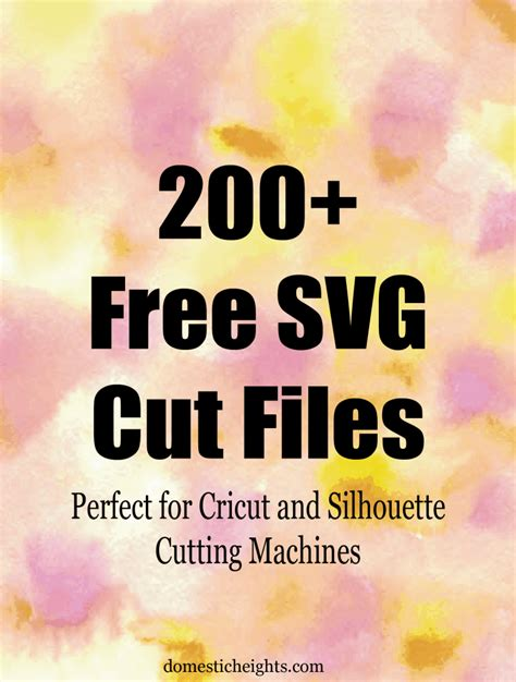 Free svg designs   download free svg files for your own. 200+ Free SVG Images for Cricut Cutting Machines ...