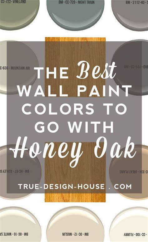 the best wall paint colors to go with honey oak floral arrangements paint colors and glasses