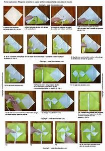Pliage En Papier : pliage serviettes on pinterest origami cuisine and ~ Melissatoandfro.com Idées de Décoration