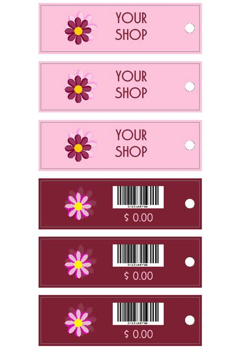 clothing tags labeljoy labels printing software