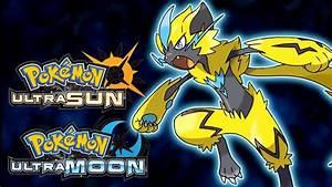 Pokemon Ultra SunMoon Zeraora Reveal Trailer YouTube