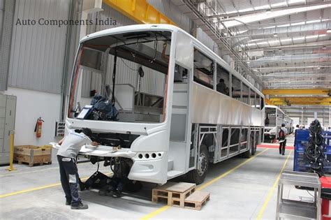 scania opens  bus manufacturing facility  india