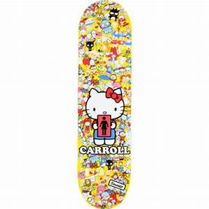 Hello Kitty Decke : girl skateboards girl kitty deck mike carroll maple luggage tags bulk ~ Sanjose-hotels-ca.com Haus und Dekorationen