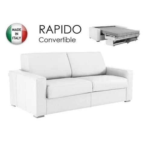 canape 120 cm convertible canapé convertible rapido 120cm dreamer cuir va achat