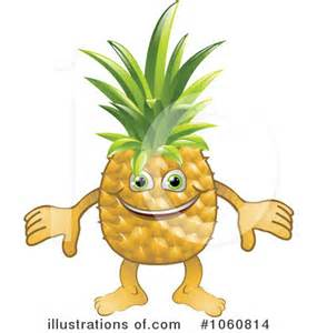 Hawaiian Pineapple Clip Art Free